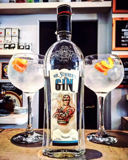 Da color a tu Gin Tonic con Mr. Stacher's gin